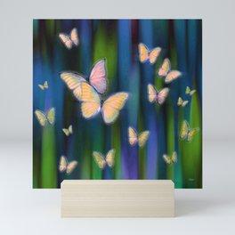 Silken Wings Mini Art Print