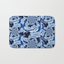 Mountain Fractal Bath Mat