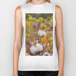 Cotton Flower 3 Biker Tank