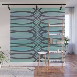 Lace It Up Wall Mural
