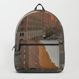The Yellow Muted City (Color) Backpack