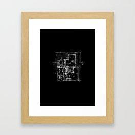 Doing my architecture job Framed Art Print