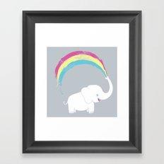 Elephant Painting! Framed Art Print