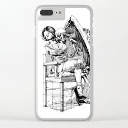 The Kiss Clear iPhone Case