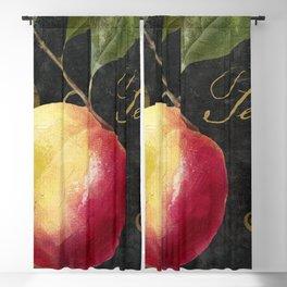 Melange Peach Blackout Curtain