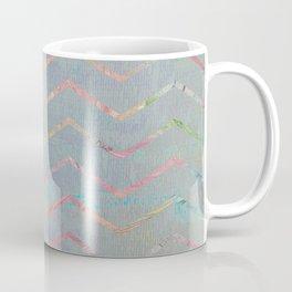 Chevron Rainbows Coffee Mug