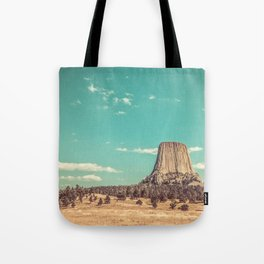 Devil's Tower National Monument Wyoming Tote Bag