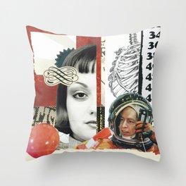 Desperate Measures Throw Pillow