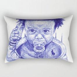 Afro Kid Rectangular Pillow