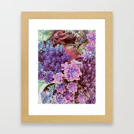 Succulent Garden View Framed Art Print