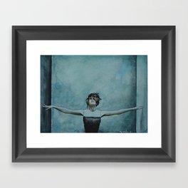 Imogen Heap | Watercolor Painting Framed Art Print