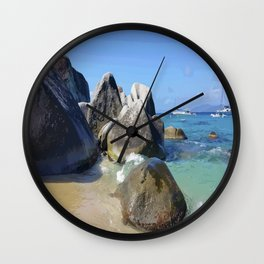 Virgin Gorda Wall Clock