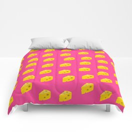 Stay Cheesy Comforters