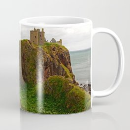 Dunnottar Castle, a medieval fortress in Stoneheaven Coffee Mug