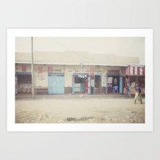 open for business::kenya Art Print