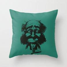 THE ENVIOUS MAN Throw Pillow