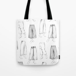 What's in my sketchbook_Culottes Tote Bag