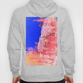 Into the Mist Pantone Color of the Year 2016 Abstract Hoody