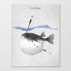 Take It Outside! Canvas Print