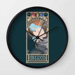Malta Nouveau -  Sea Prince and the Fire Child Wall Clock