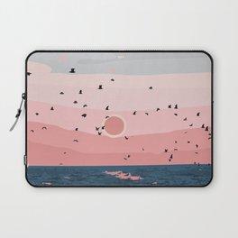 Sunset on Bornholn, Denmark Laptop Sleeve