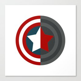 Colorful shield Canvas Print