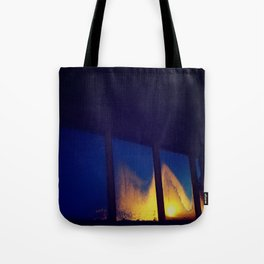 Fogged Perspective Tote Bag