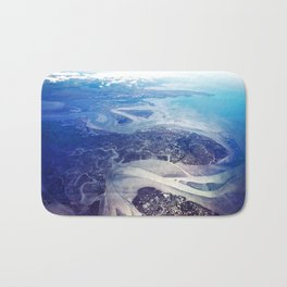 Overlook of Land and Sea Bath Mat