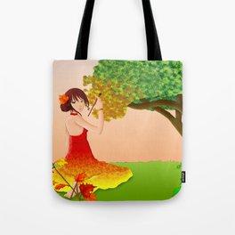 L'automne Tote Bag