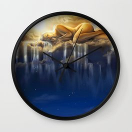 Goddess Nyx Wall Clock