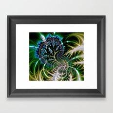 Leaf 0 Framed Art Print