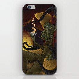 Creature Comforts: Cthulu iPhone Skin