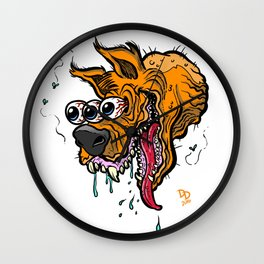 Mad Dog Wall Clock