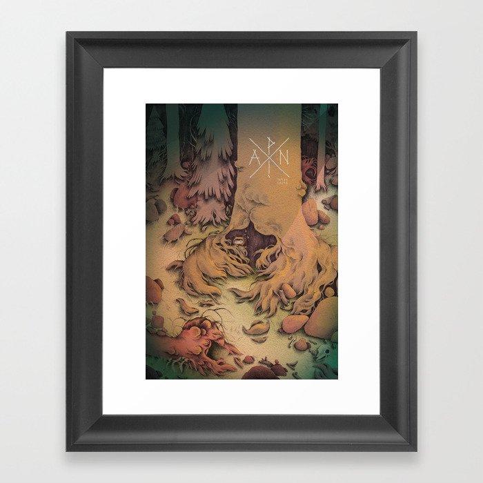PAN ! Framed Art Print