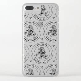 Nifflers Gonna Niffle Clear iPhone Case