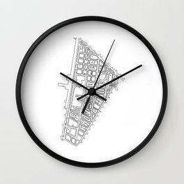 Tribeca, NY Wall Clock
