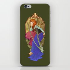 For the First Time in Forever iPhone & iPod Skin