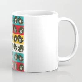 Birds in line. Coffee Mug