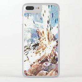 Battle with werewolf Clear iPhone Case