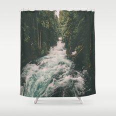 Mckenzie River Shower Curtain