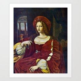 Joanna of Aragon by Raphael Art Print