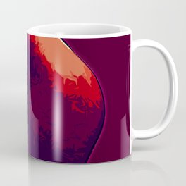 Red body illustration Coffee Mug