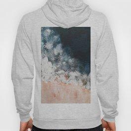 Aerial ocean, coast,  beach, waves, sea, prints, project Hoody