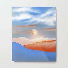 Minimal mountains 02 Metal Print