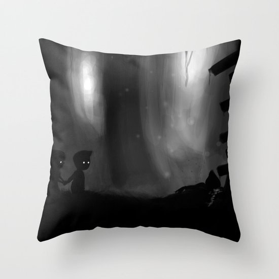 Overlooking Chaos Throw Pillow