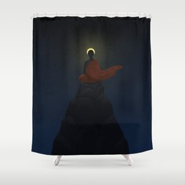 Floating Bridges Shower Curtain