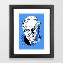 Swiss Psychiatrist Carl Jung Framed Art Print