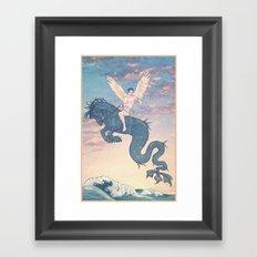 EROS Framed Art Print
