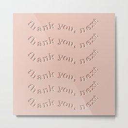 Thank you nex Metal Print