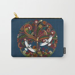 tree of life blue Carry-All Pouch